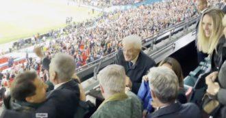 Italia Campione d'Europa, la vittoria dell'Italia vista da Mattarella allo stadio di Wembley