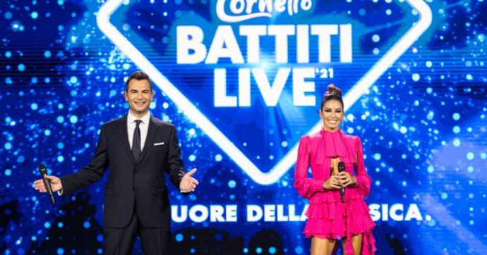 Battiti Live stasera su Italia Uno con Sangiovanni, Alessandra Amoroso, Fedez e Orietta Berti. Ecco la scaletta e le canzoni