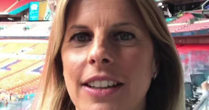 """Italia campione d'Europa, Katia Serra: """"Ecco cosa ho detto a microfoni spenti"""". La rivelazione della telecronista della finale"""