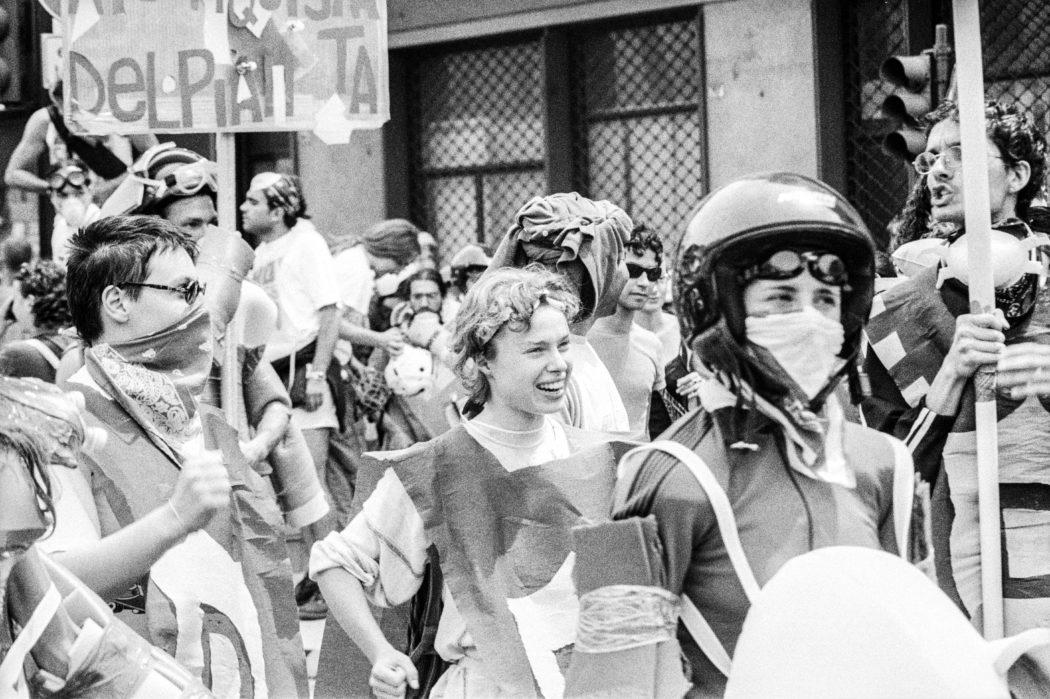 Proteste contro il summit G8