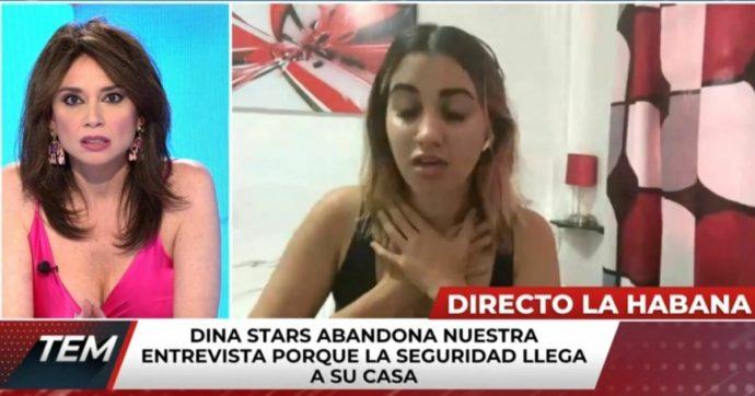 """Dina Stars, la celebre youtuber parla delle proteste anti-governative in tv e viene arrestata in diretta: """"Il governo è responsabile di ciò che mi accadrà"""""""