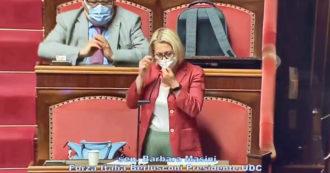 """La senatrice di Forza Italia difende il ddl Zan e si commuove: """"Quando mia madre capì di me disse 'ho paura per te"""