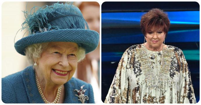 """Orietta Berti stuzzica la Regina Elisabetta: """"Hai visto che succede?"""""""