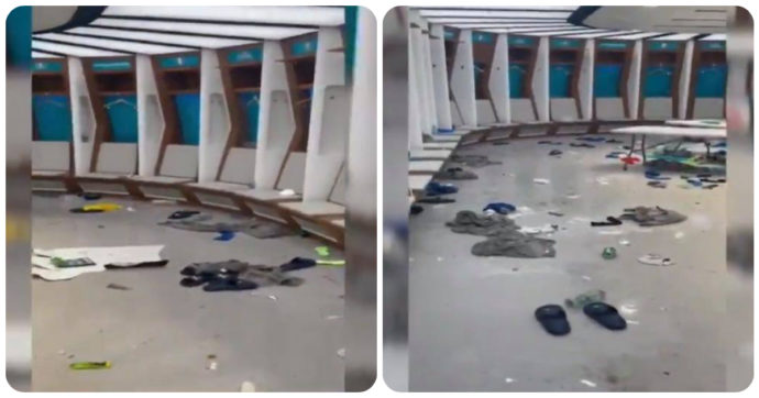 """Italia campione d'Europa, Azzurri lasciano """"un disastro"""" nello spogliatoio. Gli inglesi: """"Da noi solo i cartoni della pizza"""""""