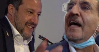 """Milano, il centrodestra litiga davanti alle telecamere. La Russa bisticcia con Licia Ronzulli e Salvini nega l'evidenza: """"Più uniti che mai"""""""