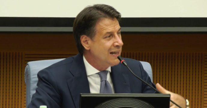 """Conte ai parlamentari M5s: """"Dobbiamo essere protagonisti. Con Draghi chiaro sulla giustizia, c'è un limite che non possiamo oltrepassare"""""""