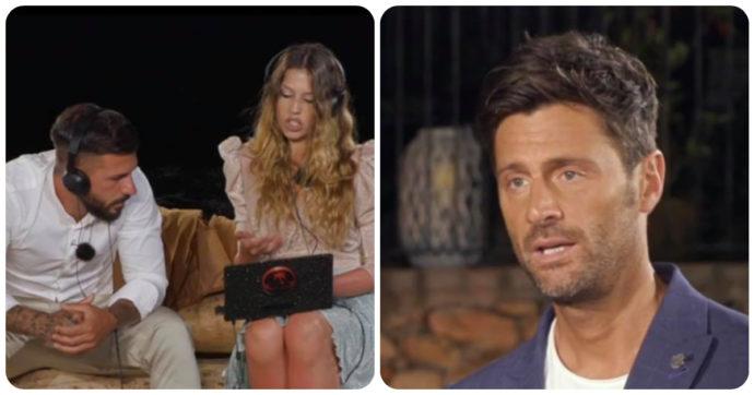 """Temptation Island, Floriana Angelica lascia Federico Rasa: """"Che schifo, taci"""". Interviene Filippo Bisciglia ma il pubblico non apprezza"""