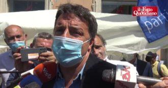 """Renzi firma i referendum sulla giustizia della Lega. E dà la colpa al Pd sul ddl Zan: """"Chi non lo vuole in questo momento sono loro"""""""