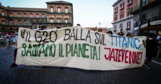 Napoli, al via G20 su ambiente, energia, clima: l'ambizione a parole dei potenti della terra dopo le recenti calamità, i pochi investimenti e le leggi nazionali inadeguate