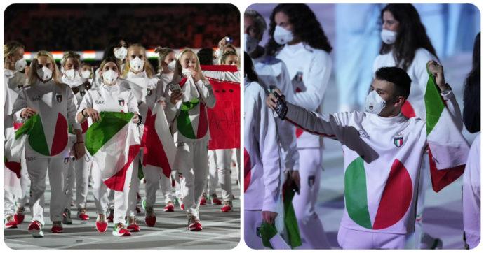 """Olimpiadi di Tokyo 2021, il web non apprezza le divise dell'Italia firmate da Armani: """"Sembrano le tute dei Teletubbies"""""""