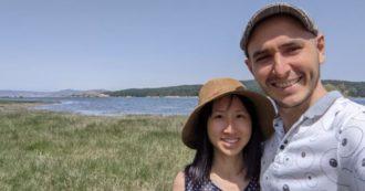 """Da Singapore alla """"porta della Sila"""", Luke e Denise scelgono di vivere immersi nella natura"""