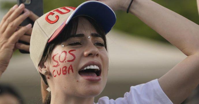 Cuba esplode in proteste sotto pressione tra oligarchia ed embargo