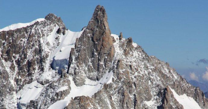Alpinista muore durante una discesa dal Dente del Gigante