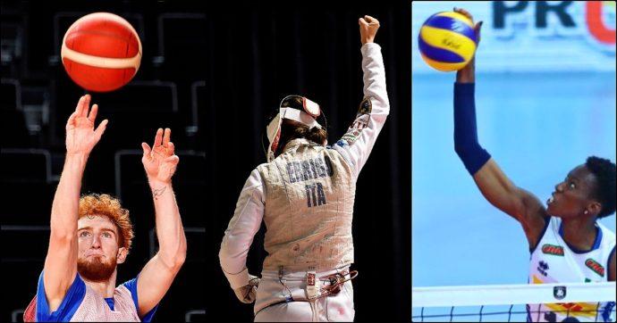 Olimpiadi, le 18 medaglie in palio domenica 25 luglio: gli azzurri in gara (orari e tv). Dal fioretto femminile all'esordio di basket e volley