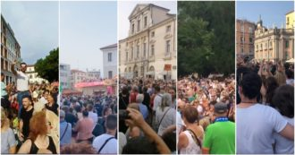 """Green Pass, decine di manifestazioni in tutta Italia per dire no alle restrizioni per i non vaccinati: """"Libertà, libertà"""" (video)"""