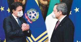 Conte resiste: modifiche per convincere Draghi e tenere compatto il M5S