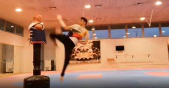 Olimpiadi Tokyo, ecco come si è allenato Vito Dell'Aquila: il finalista azzurro nel taekwondo tra calci volanti e piroette