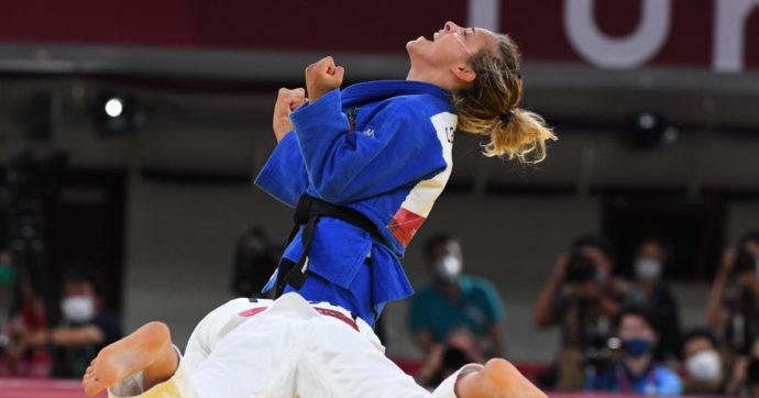Olimpiadi Tokyo, quarta medaglia per l'Italia: bronzo di Odette Giuffrida nel judo -52 kg