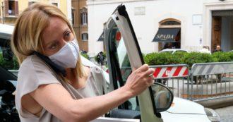 Covid, dopo Salvini anche Giorgia Meloni si è vaccinata: la prima dose allo Spallanzani a Roma