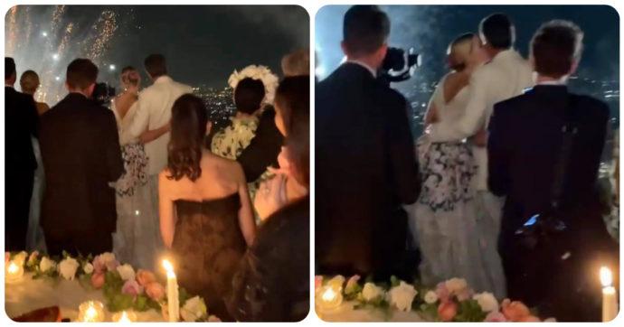 Kitty Spencer, il matrimonio della nipote di Lady Diana tra abiti da sogno (di Dolce & Gabbana) e fuochi d'artificio. E il marito Michael Lewis si è vestito di bianco