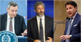 """Riforma Cartabia, Draghi apre a Conte: stop a improcedibilità per mafia e terrorismo. Fico: """"Un punto di caduta si può trovare"""""""