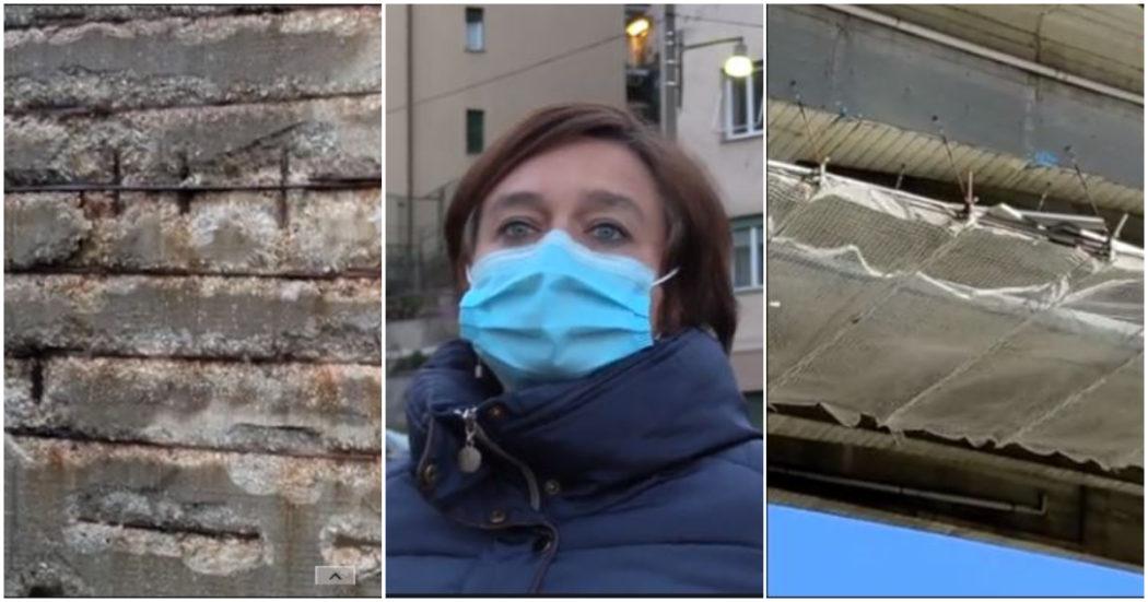 Genova, Autostrade non sposta più le 29 famiglie che vivono sotto il viadotto che cade a pezzi: offre (al massimo) 20mila euro d'indennizzo