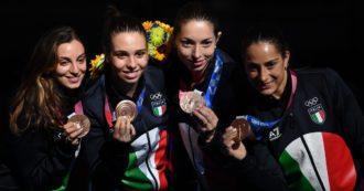 Olimpiadi di Tokyo, bronzo della squadra di spada femminile: Fiamingo, Navarria, Isola e Santuccio battono la Cina