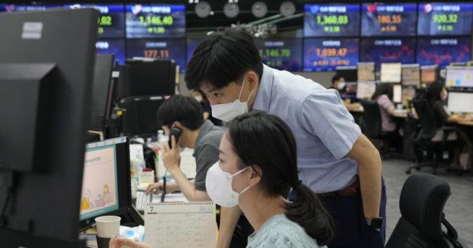 Il pugno di ferro di Pechino sulle società del web affonda le borse asiatiche. Ripercussioni anche sui listini europei