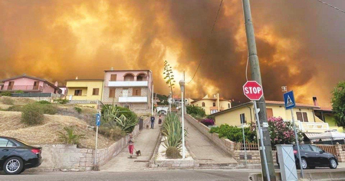 Effetto Solinas: Antincendio allo sbando, rogo Sardegna
