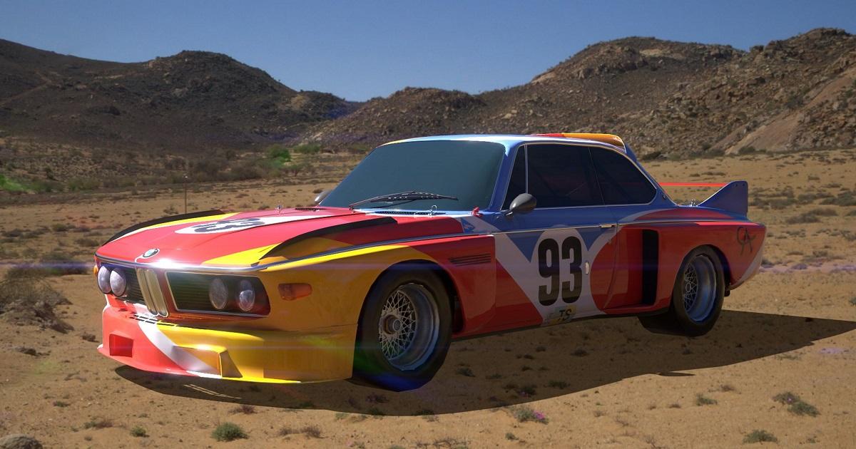 Le 'Art Cars' di Bmw ora visibili anche sul telefonino grazie alla realtà aumentata – FOTO