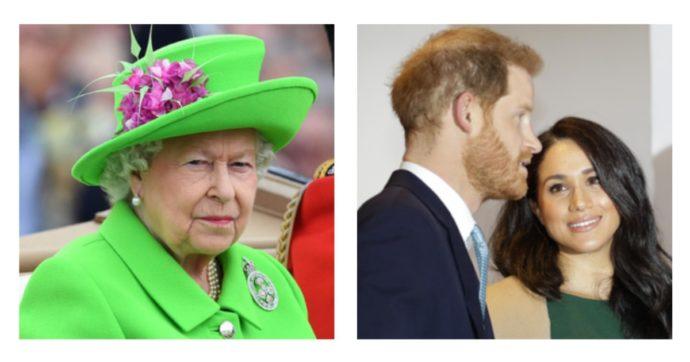 La regina Elisabetta 'punisce' così Harry e Meghan