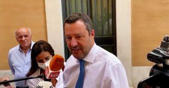 """Giustizia, Salvini: """"Noi accettiamo le proposte di Draghi, non dei Cinque stelle"""""""