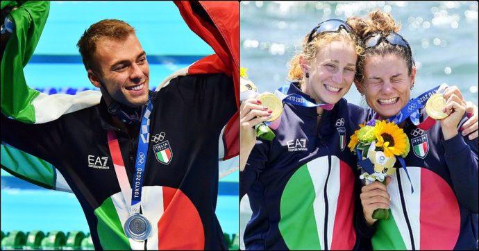 Olimpiadi Tokyo: oro con Rodini-Cesarini nel canottaggio femminile, bronzo al maschile. Paltrinieri è argento un mese dopo la malattia