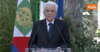 """Scuola, Mattarella alla cerimonia del Ventaglio: """"La riapertura deve essere priorità, tutti sentano questo dovere"""""""