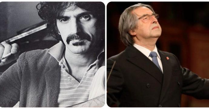 Riccardo Muti e Frank Zappa sono molto più simili di quanto sembri