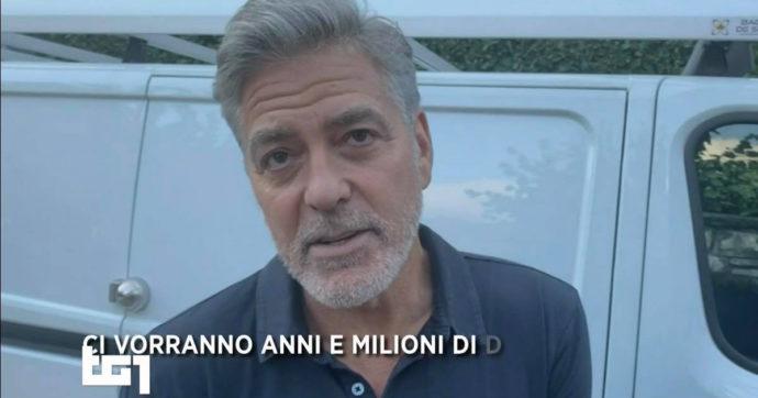 """Maltempo a Como, George Clooney e la sua villa danneggiata: """"Peggio di come pensavo"""""""