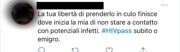 Dopo le proteste sul green pass, dilaga l'hashtag #HIVpass: l'omofobia di questo Paese non ha limiti