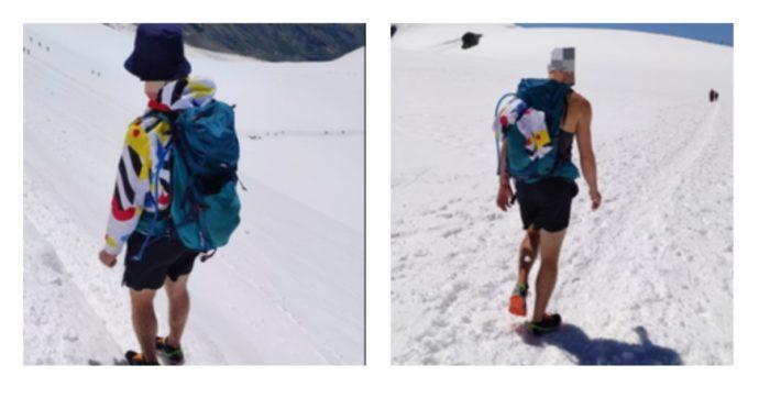 """Sul ghiacciaio in pantaloncini corti, il Soccorso Alpino sbotta: """"Se cade in un crepaccio ha poche possibilità di sopravvivere"""""""