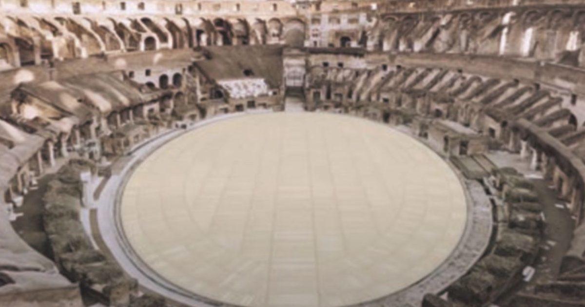 """Il """"nuovo"""" colosseo, l'arena della discordia"""