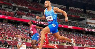 Marcell Jacobs medaglia d'oro nei 100 metri alle Olimpiadi: l'uomo più veloce del mondo è un italiano. Vince la finale a Tokyo in 9″80