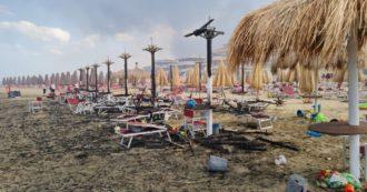 Abruzzo, brucia la Pineta Dannunziana di Pescara: cinque in ospedale per intossicazione. Esplosioni e scuola media in fiamme