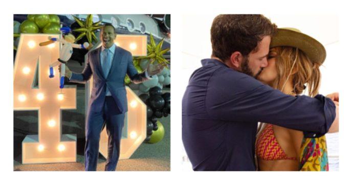 """""""Guerra"""" a colpi di gossip tra Jennifer Lopez e l'ex Alex Rodriguez: la """"mini vacanza"""" con Ben Affleck che sa di dispetto"""