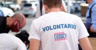 Eutanasia legale, raccolte oltre 320mila firme per il referendum. Aderiscono anche i sindaci di 78 città