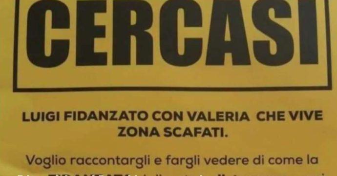 """""""A.A.A Cercasi Luigi, fidanzato con Valeria… vorrei fargli vedere come…"""": il volantino diffuso a Scafati"""