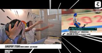 Olimpiadi, i quattro dell'inseguimento su pista vincono l'oro: i telecronisti di discovery+ impazziscono di gioia – Video