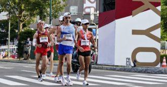 Massimo Stano è medaglia d'oro nella marcia di 20 km alle Olimpiadi di Tokyo