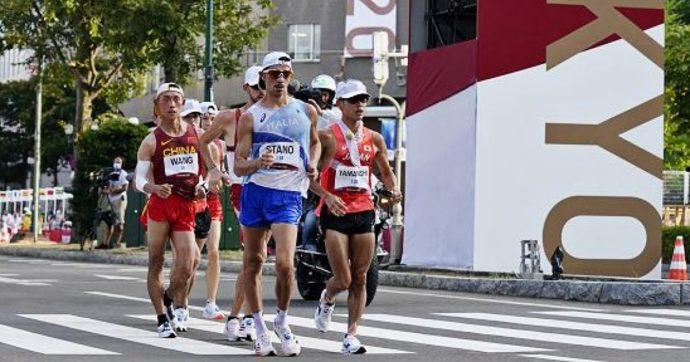 Massimo Stano è medaglia d'oro nella 20km di marcia alle Olimpiadi di Tokyo