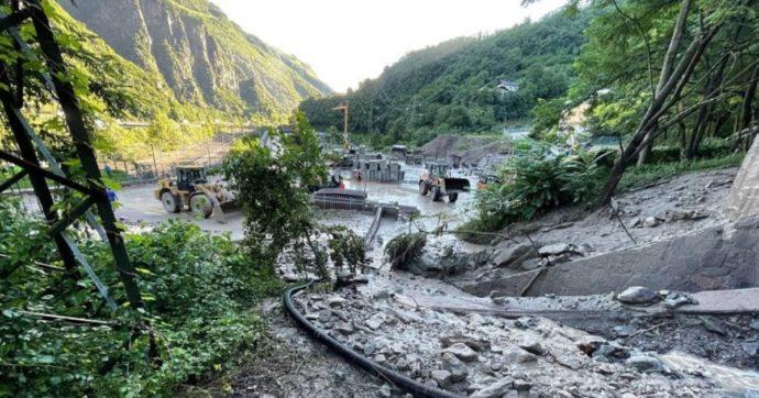 Lago di Como esonda, strade allagate. Colata di fango su hotel a Riva del Garda: 100 ospiti evacuati