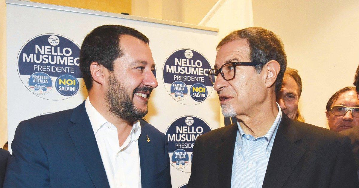 Per far fuori Musumeci, Salvini imbarca ras, indagati e riciclati