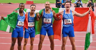 Oro leggendario nella staffetta 4×100: l'Italia è la più veloce al mondo. A Tokyo un'altra impresa azzurra, la più incredibile